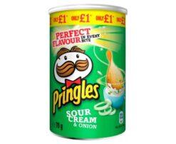 Pringles Sour Cream & Onion 70g