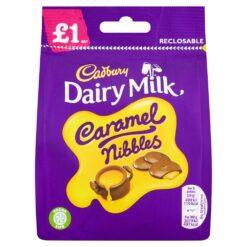 Cadbury Dairy Milk Caramel Nibbles Bag 95g