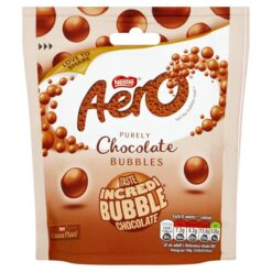 Areo Bubbles Chocolate Pouch 102g