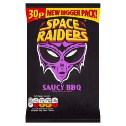 Space Raiders Saucy BBQ Corn Snacks