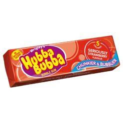 Hubba Bubba Seriously Strawberry Bubblegum