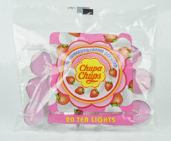 Chupa Chups Strawberry & Cream Scented Tea Lights