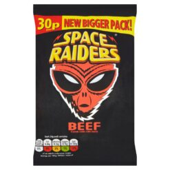 Space Raiders Beef Flavour