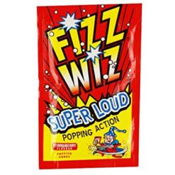 Fizz Wizz Strawberry Popping Candy