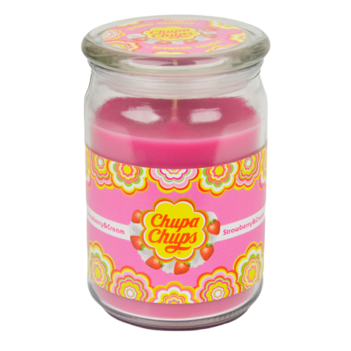 Chupa Chups Strawberry & Cream Candle