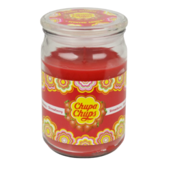 Chupa Chups Strawberry Candle