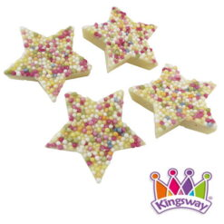 Kingsway White Chocolate Stars