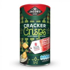 Jacob's Cracker Crisps Sour Cream & Chive Caddy 230g