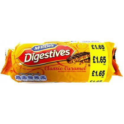caramel digestives