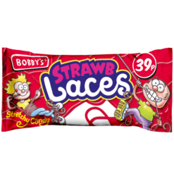 bobbys strawberry laces