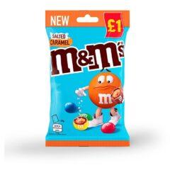 salted caramel M&M
